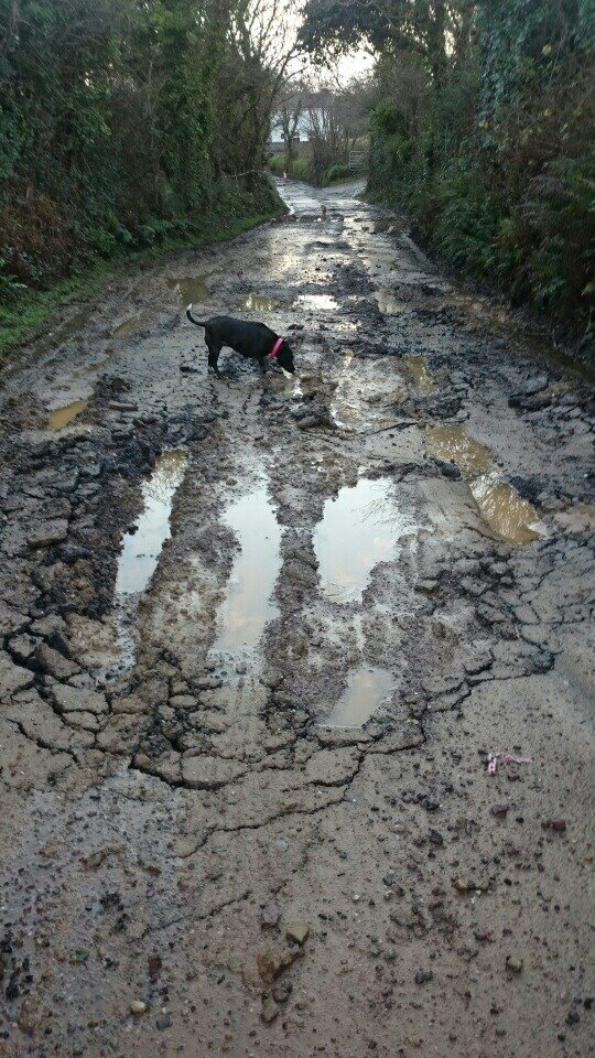 Road in glanturkin Pic: Mary Hickey